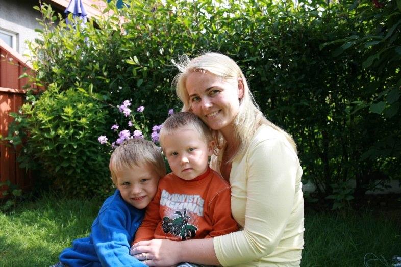 Malli, Bjarki og Pálína