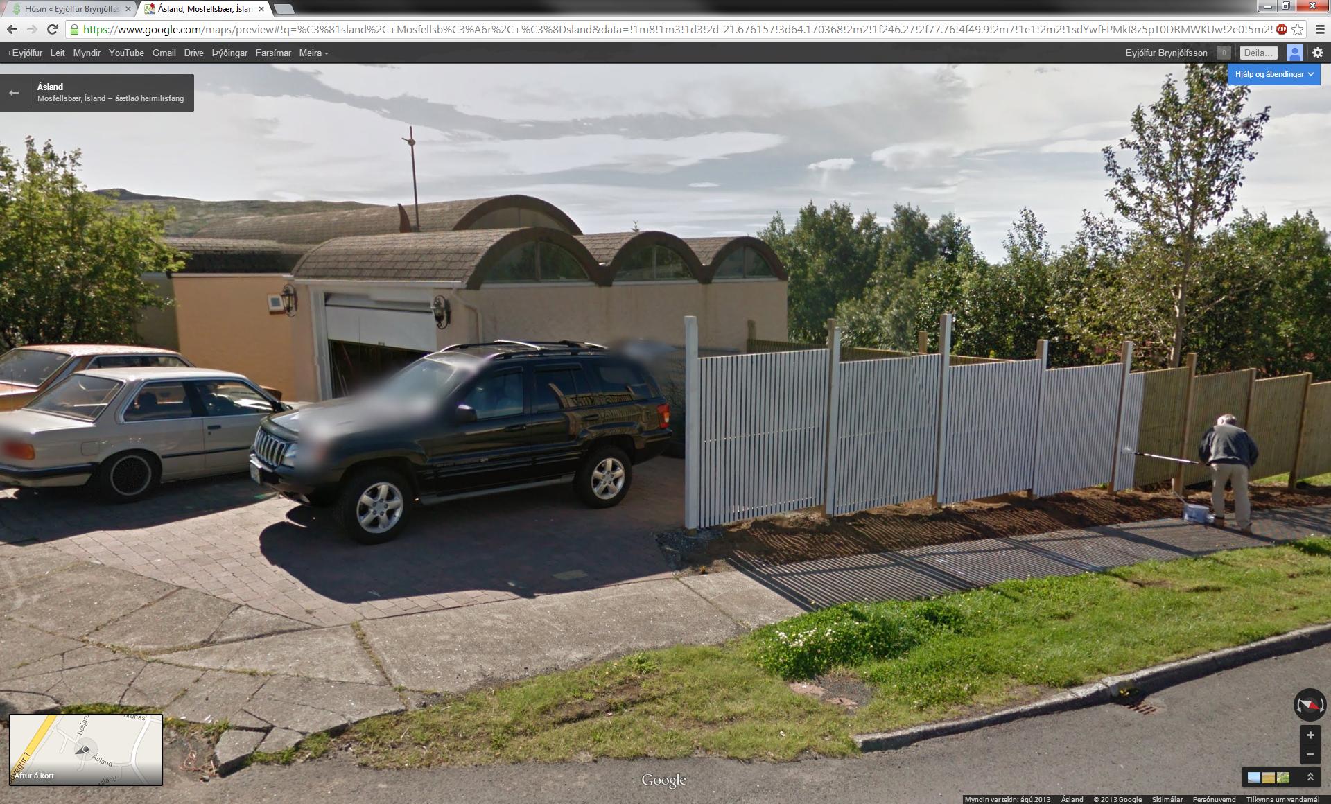 Húsin - Ásland - 114-Google